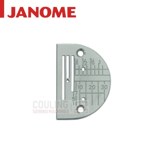 Janome Standard Needle Plate - HD9 1600P ONLY - 767281108