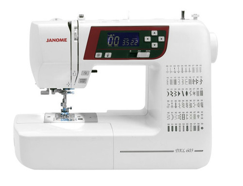 JANOME DXL603 SEWING MACHINE - Ex-demonstration - FREE QUILTING PACK