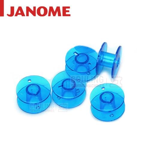 5 JANOME GENUINE BLUE BOBBINS - Standard Size - Atelier 6 102261505
