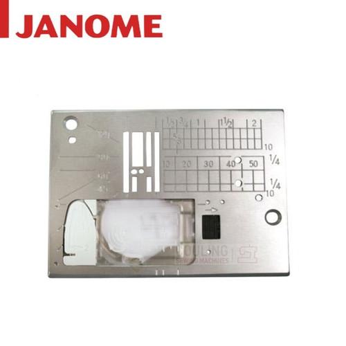 JANOME STRAIGHT STITCH NEEDLE PLATE M200QDC, M100QDC, M50QDC, TXL607, XL605, ATELIER 3, 5060QDC 809833001
