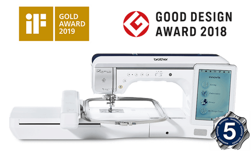 Brother Innov-is-Luminaire-XP1 Sewing, Quilting and Embroidery Machine - Free Upgrade Kit 1 & Trolley Bag Set worth £798