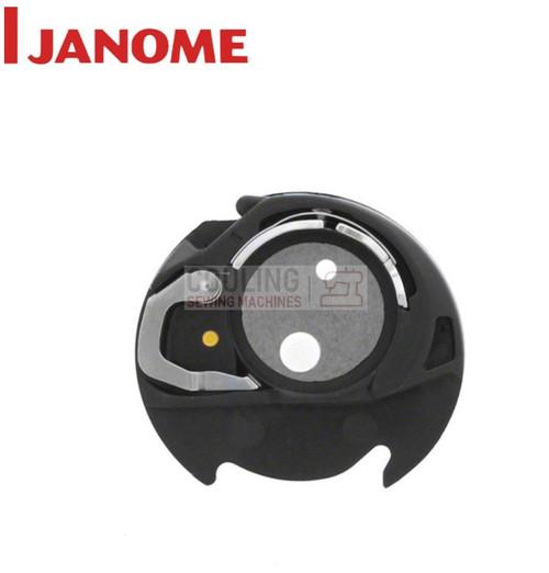 Janome Genuine Bobbin Case YELLOW DOT MC9900 MC500E MC550E MC400E AT9 846652607