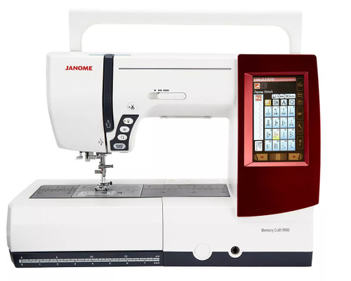 Janome Memory Craft 9900 Sewing Embroidery Quilting Machine
