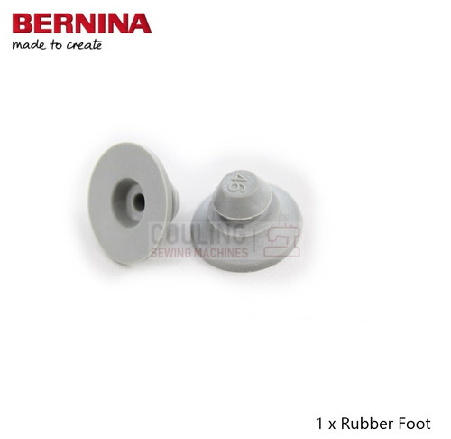 Bernina Base Rubber Feet New Type Push in Large 4 5 7 8 Series  0317485000