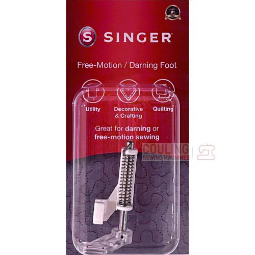 SINGER Free Motion Darning Quilting Foot Genuine Pack 250059996