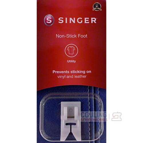 SINGER Non Stick Teflon Glide Foot Vinyl leather Genuine Pack 250026206