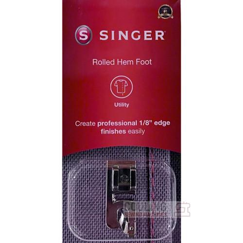 """SINGER Rolled Hem Hemmer 1/8"""" 3mm Foot Genuine Pack 250026006"""