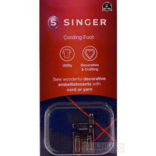 SINGER Cording 1 2 3 Cord Foot Genuine Pack 250006345