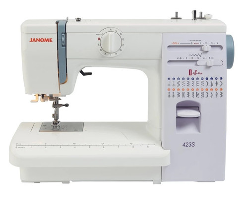 Janome 423S Sewing Machine - Solid metal bodied machine