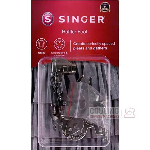 SINGER Ruffler Foot Genuine Pack 250027006 Pleats & Gathers