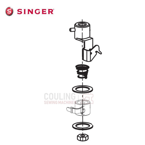 Singer Needle Threader Parts Complete - Futura, XL400, XL420, XL550 ONE PLUS