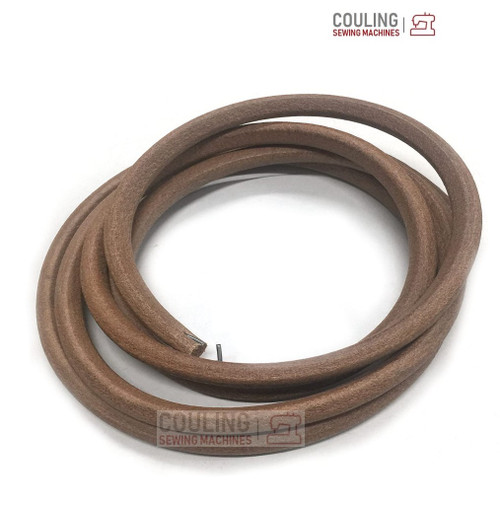 """Industrial Sewing Machine Thick Leather Belt with Hook 2m x 8mm (78"""" x 5/16"""")"""