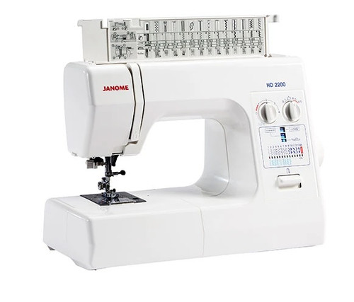 Janome HD2200 Sewing Machine Solid Metal Body