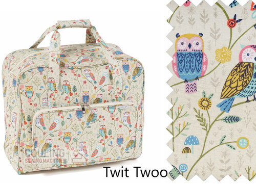 Premium Sewing Machine Carry Bag TWIT TWOO 506