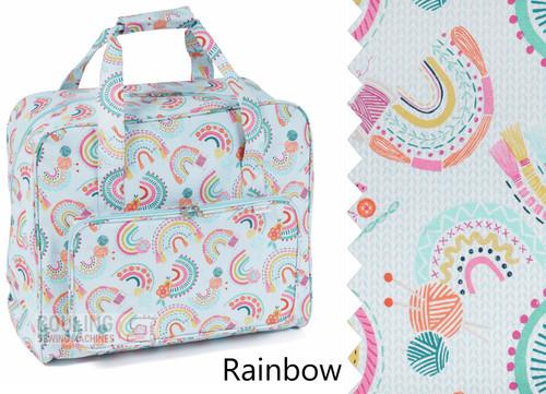 Premium Sewing Machine Carry Bag Rainbow 586