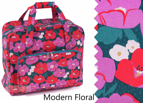 Premium Sewing Machine Carry Bag Modern Floral 588