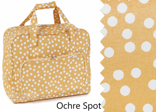 Premium Sewing Machine Carry Bag Ochre Spot 589