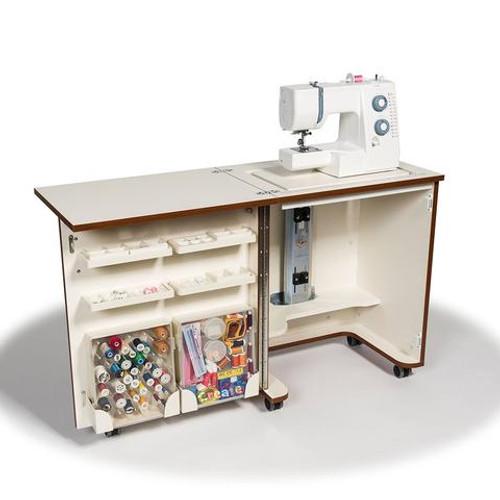Horn CUB PLUS Sewing Cabinet 1010 TEAK Demonstration Model