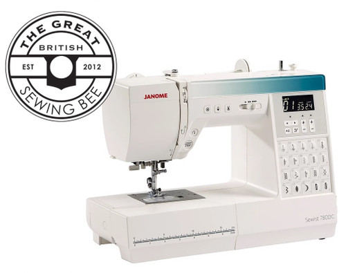 Janome Sewist 780DC Sewing Machine - As Used on The Great British Sewing Bee 2021