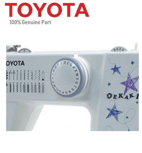 Toyota Selector Stitch Dial A to X RS2000 Oekaki