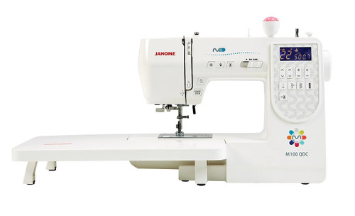 Janome M100QDC Sewing Machine + Quilt Bonus Pack m100