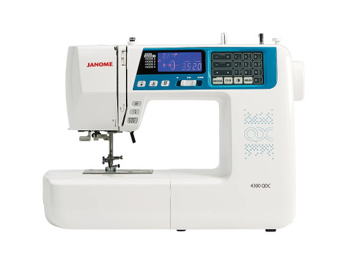 Janome 4300QDC Sewing Machine - Ex-Display Model