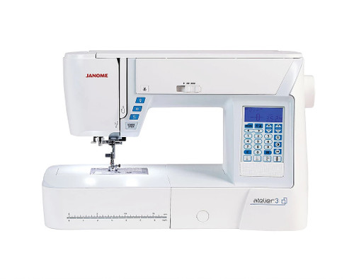 Janome Atelier 3 Sewing Machine Includes Quilting Feet