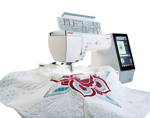 Janome Memory Craft Horizon Quilt Maker 15000
