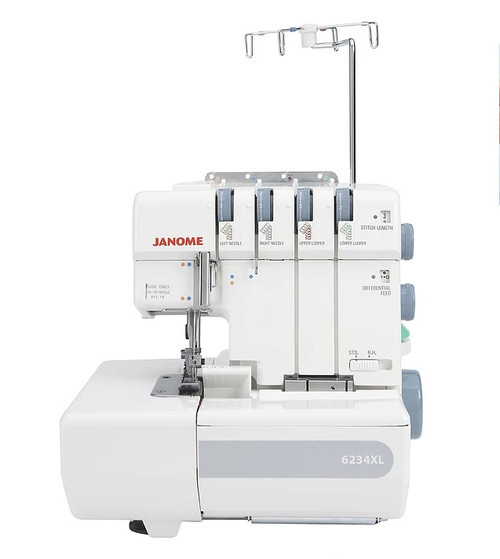 Janome 6234XL Overlocker Quick Thread