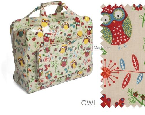 Premium Sewing Machine Carry Bag OWL 29