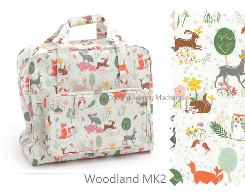 Premium Sewing Machine Carry Bag WOODLAND MK2 285