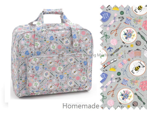 Premium Sewing Machine Carry Bag HOME HANDMADE 286