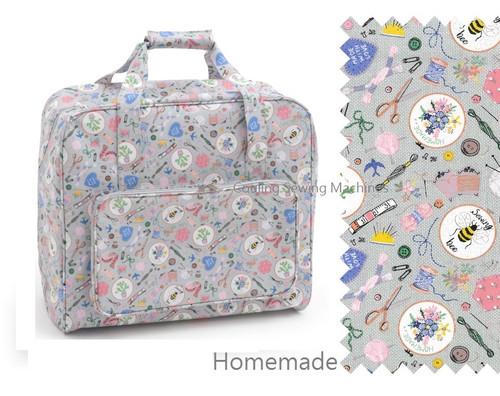 Premium Sewing Machine Carry Bag HOME HANDMADE 286
