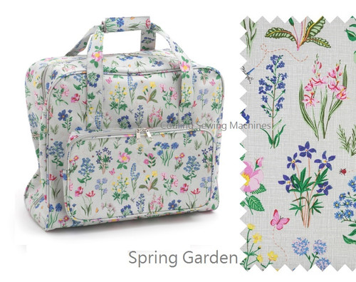 Premium Sewing Machine Carry Bag SPRING GARDEN 272