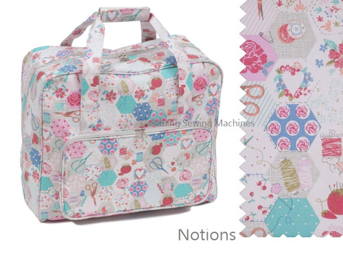 Premium Sewing Machine Carry Bag NOTIONS PATCHWORK 440