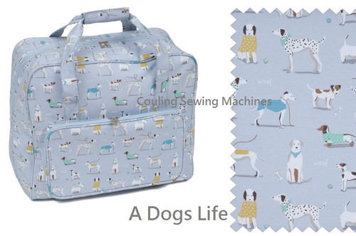 Premium Sewing Machine Carry Bag DOGS 446