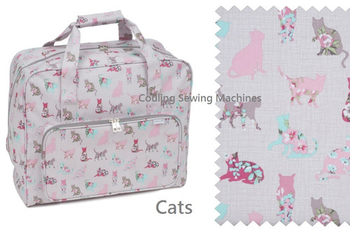 Premium Sewing Machine Carry Bag CATS 494