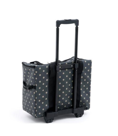 TROLLEY Premium Sewing Machine Trolley Bag CHARCOAL SPOT 263