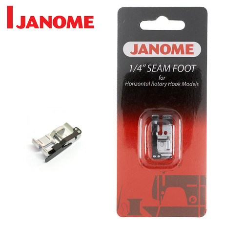 "JANOME 1/4"" PATCHWORK SEAM FOOT - 200318000 - CATEGORY B & C"