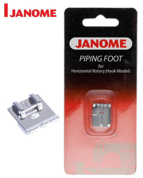 JANOME PIPING FOOT I - 200314006 - CATEGORY B & C