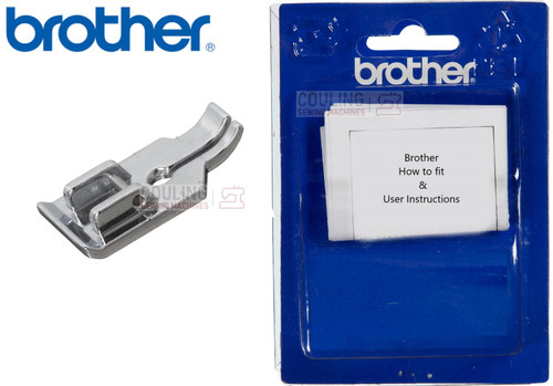 """BROTHER 1/4"""" Piecing Foot No Guide F001N - XC1944052"""