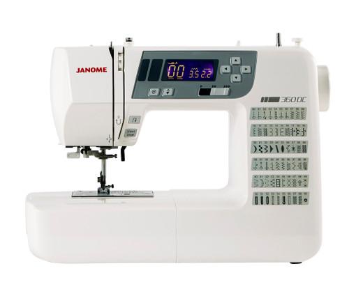 Janome 360DC Sewing Machine - Save £50