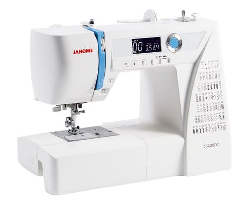 Janome 5060 QDC Sewing Machine - Save £50 & Bonus Quilting Foot Set