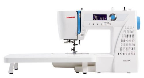 Janome 5060 QDC Sewing Machine & Bonus Quilting Foot Set