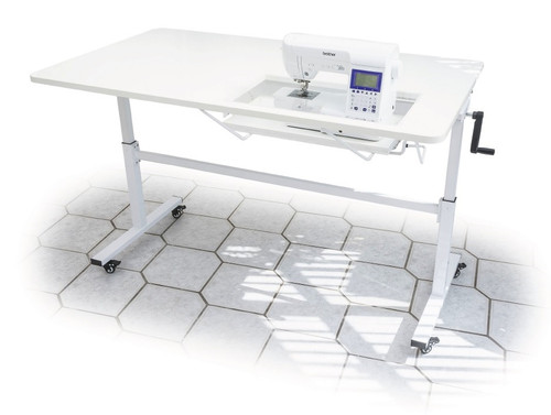 The SEWER'S VISION Horn Sewing Table 3004