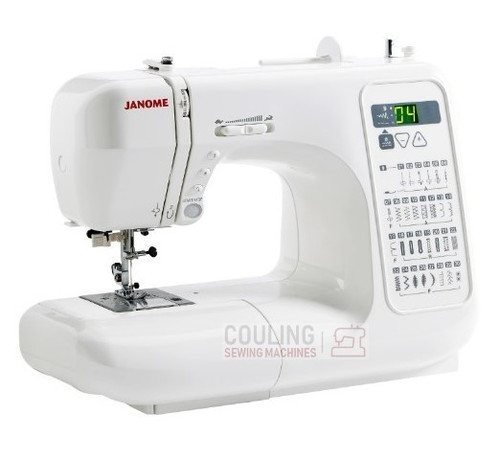 the janome RE3300 with the same strong build as the CXL301