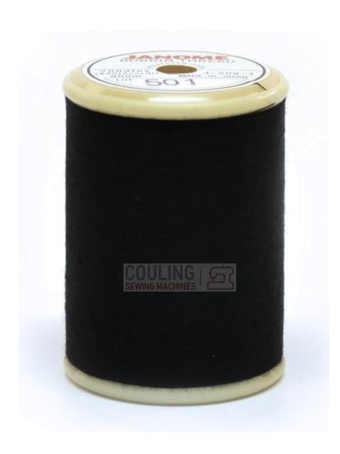 janome black bobbin thread 800m