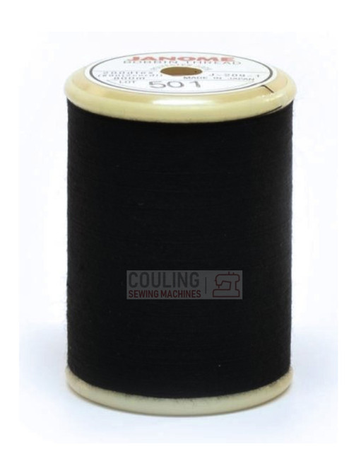 janome black bobbin thread 800m
