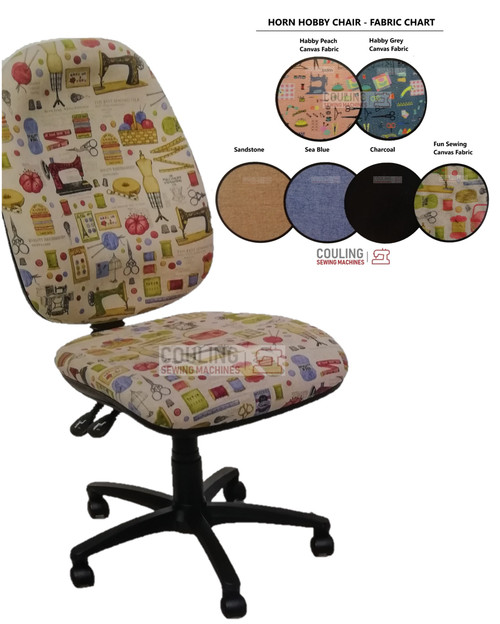 The Horn Hobby Sewing Chair Physiotherapist Approved