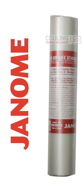 Janome Solvy Water Soluble Stabiliser 10m x 33cm